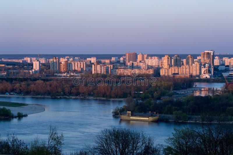 Modern Kiev royalty free stock photos
