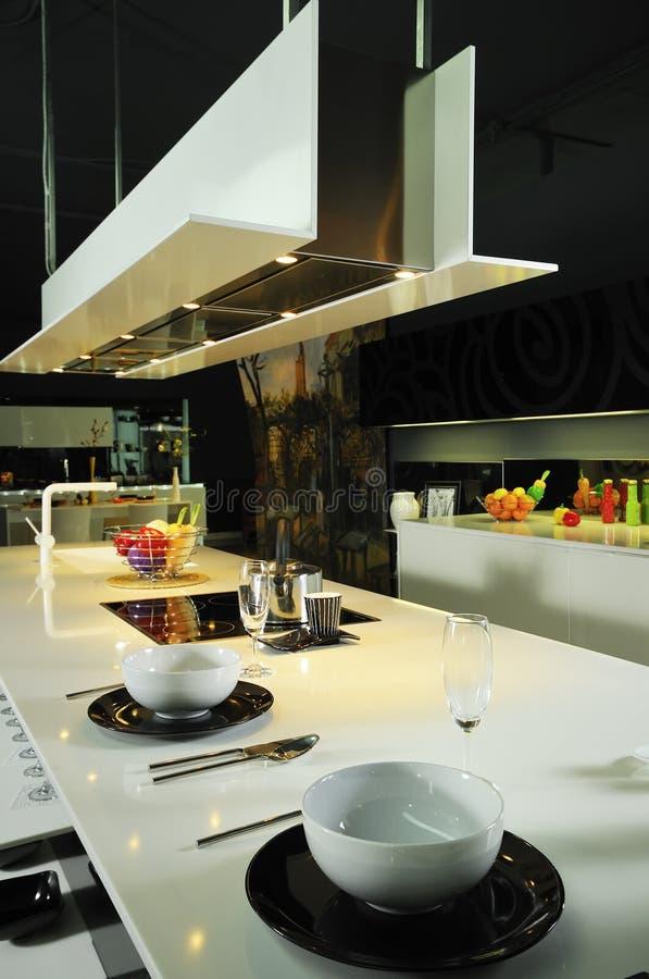 Modern kitchen 02 stock image