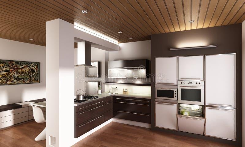 Download Modern Kitchen Stock Image - Image: 13089071