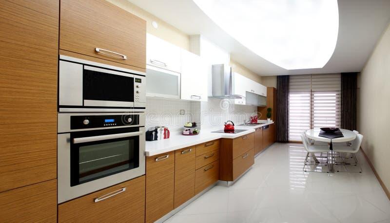 Download Modern kitchen stock photo. Image of iron, cooking, furniture - 15447012