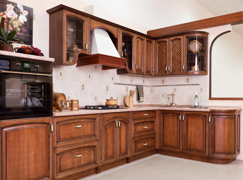 Download Modern Kitchen stock image. Image of cabinet, decoration - 18459651