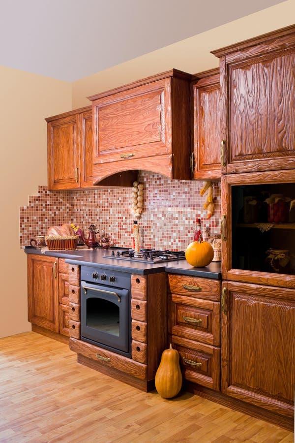 Download Modern kitchen stock photo. Image of gourmet, hardwood - 24323016