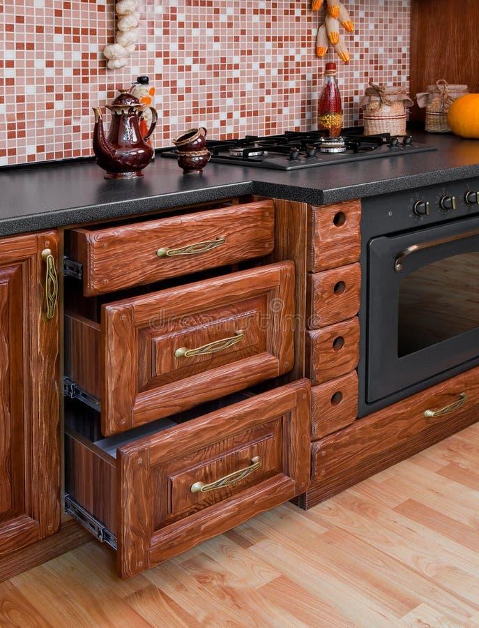 Download Modern kitchen stock image. Image of lighting, marble - 24323229