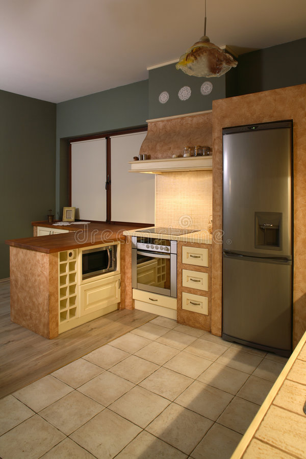 Download Modern kitchen stock image. Image of home, classy, modern - 4426611