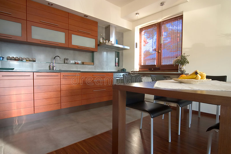Download Modern kitchen stock image. Image of community, fixture - 524501