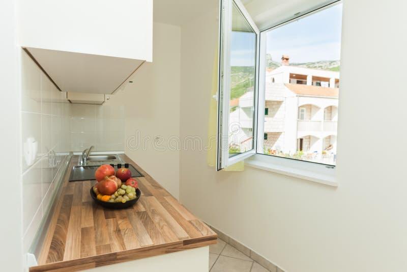 Download Modern kitchen stock image. Image of floor, extractor - 30463693