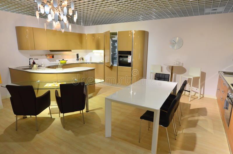 Download Modern Kitchen With Dining Area Stock Photo - Image: 20970990