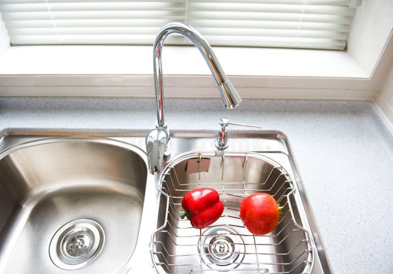 Download Modern kitchen interior stock image. Image of clean, interior - 21591699