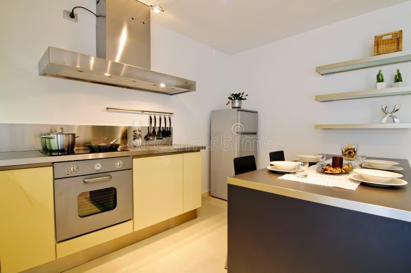 Download Modern kitchen interior stock image. Image of kitchen - 22050347