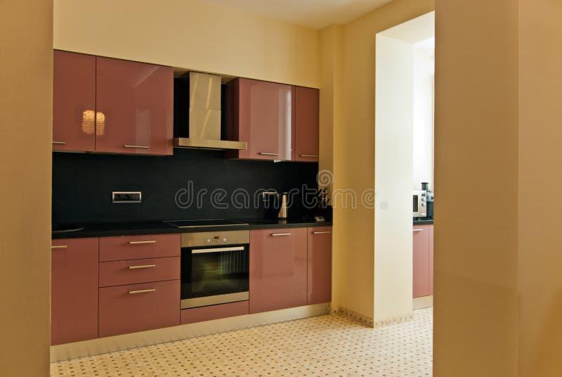 Download Modern kitchen interior stock photo. Image of beautiful - 24647128