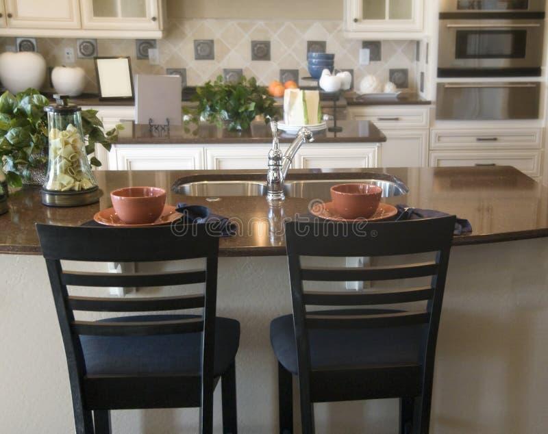 Modern Kitchen Interior Design stock images