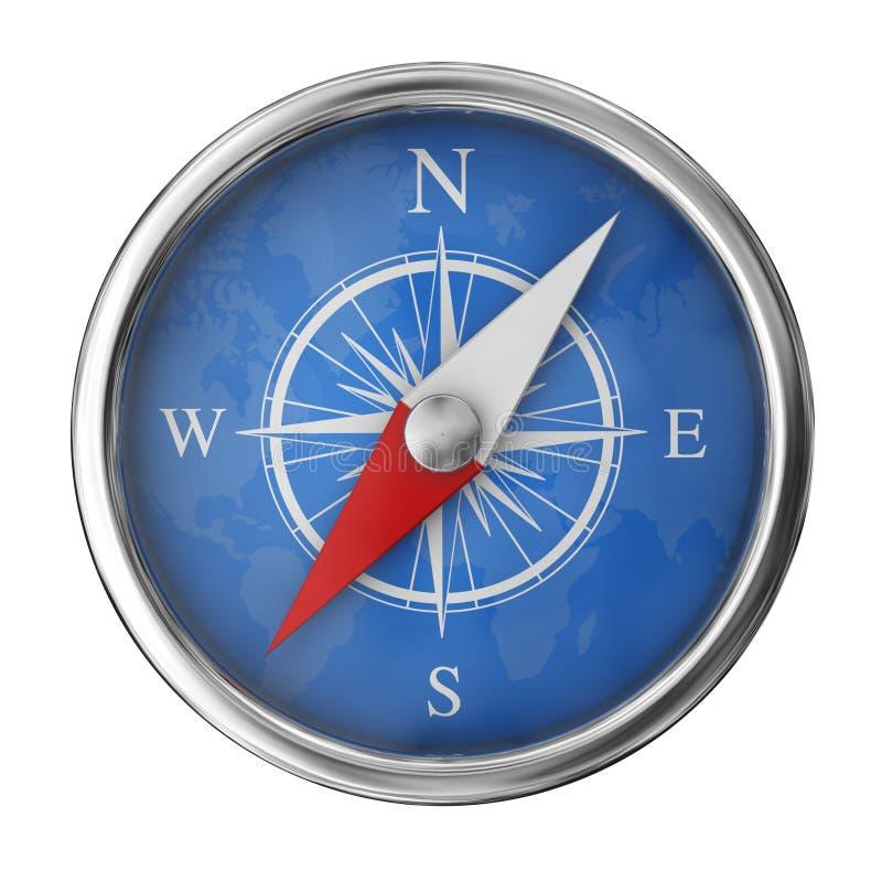 modern kompass vektor illustrationer