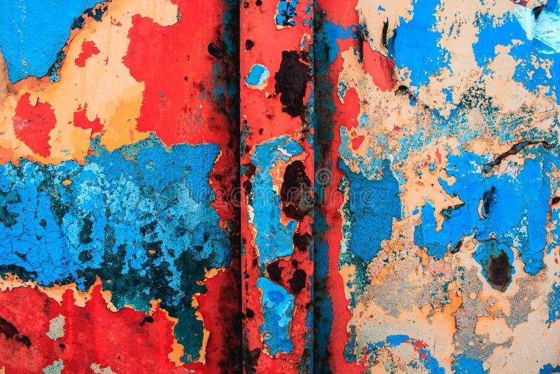 Modern konst abstrakt målning med olje- målarfärger royaltyfria bilder