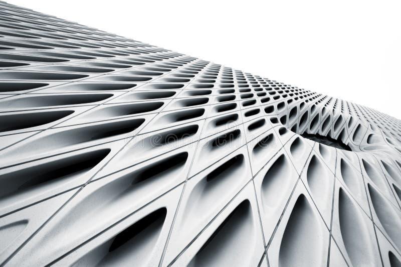 Modern konstmuseum, i stadens centrum finansiellt område av den Los Angeles staden, Kalifornien fotografering för bildbyråer