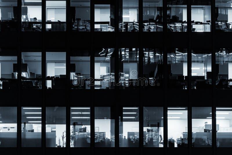 Modern kontorsbyggnad i i stadens centrum Toronto arkivbild