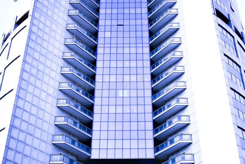 modern kontorsskyskrapa för abstrakt kantjustering royaltyfri bild