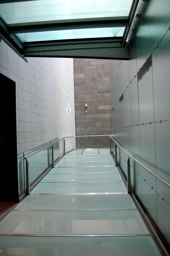 modern korridor arkivbild