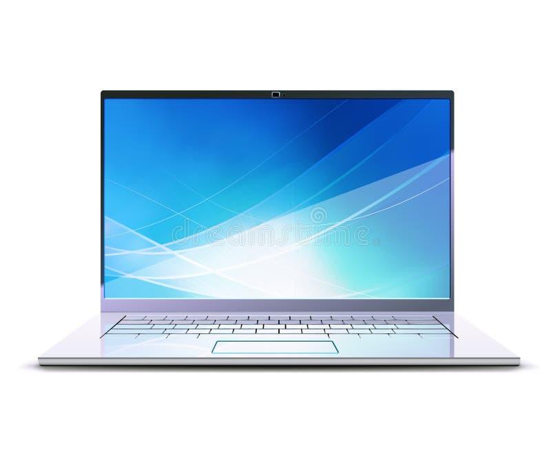 Modern Laptop Royalty Free Stock Images