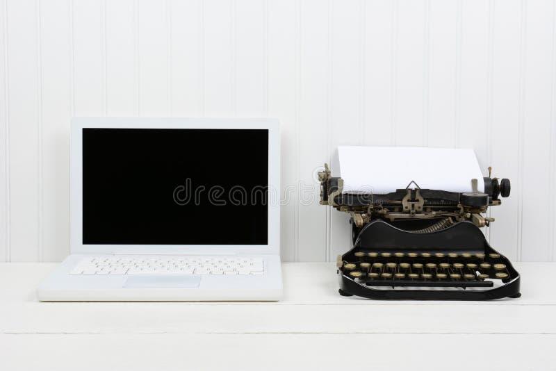 Typewriter Vs. Computer