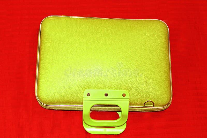 MODERN LAPTOP BAG stock photos