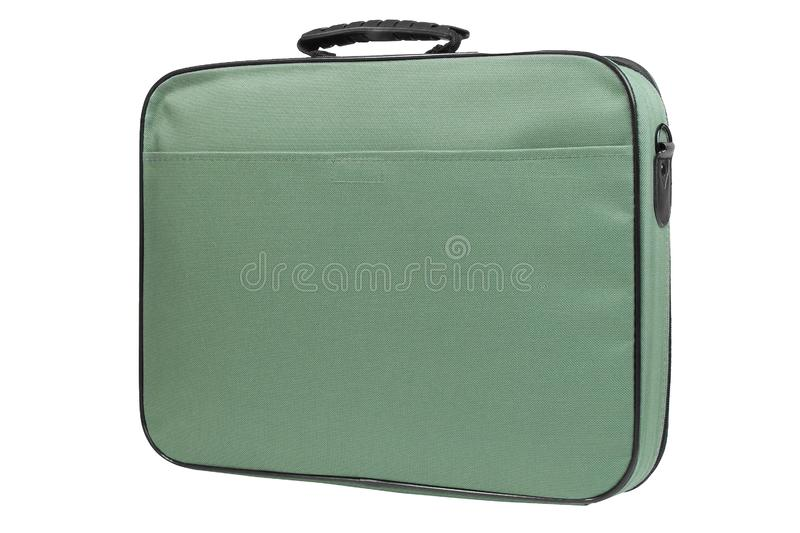 Modern laptop bag stock photo