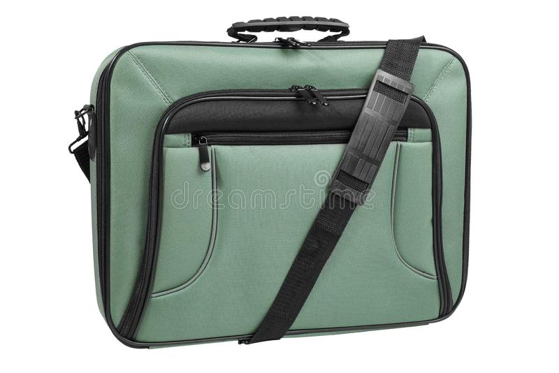 Modern laptop bag stock image