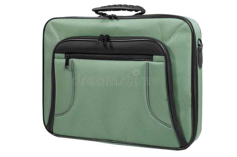 Modern laptop bag royalty free stock photo