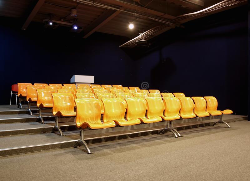 Download Modern Lecture Room stock image. Image of seats, floor - 12169789