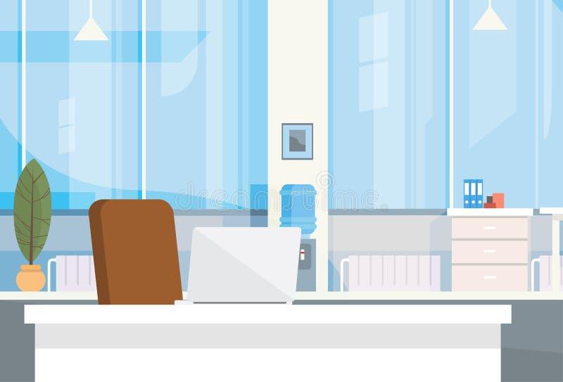 Modern Leeg de Stoelbureau van de Bureau Binnenlands Werkplaats royalty-vrije illustratie
