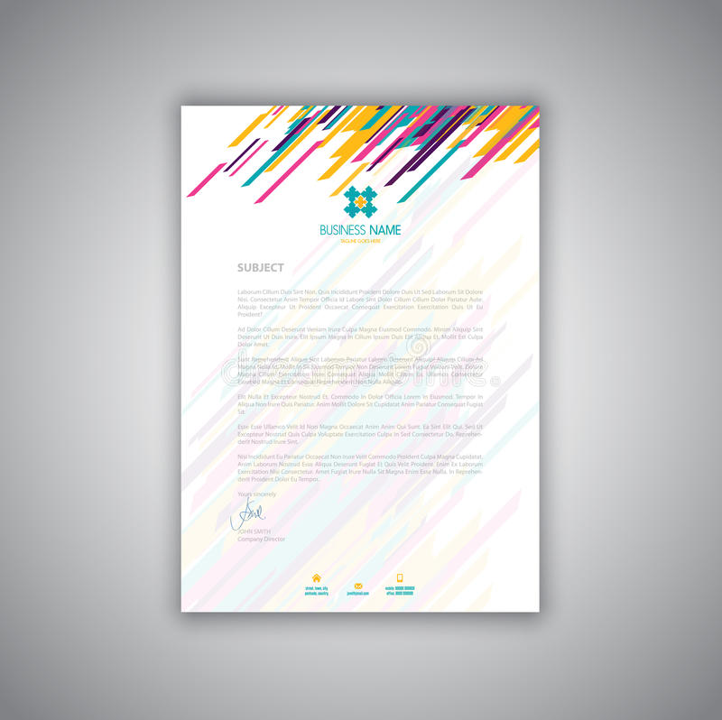 Stationery letterhead design leoncapers stationery letterhead design reheart Images