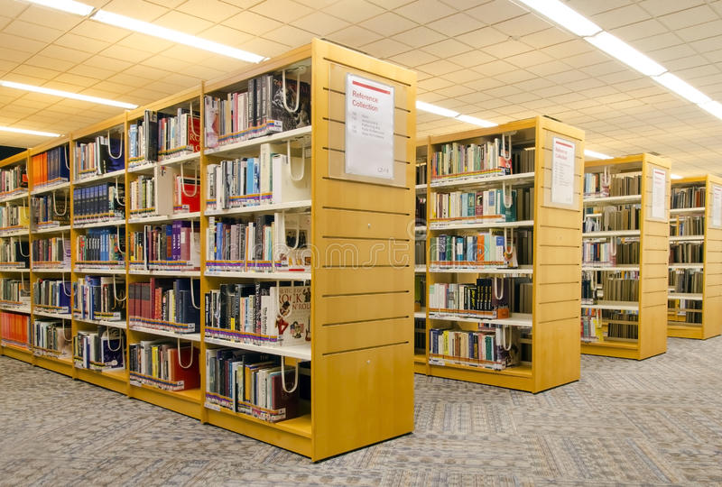 Modern library royalty free stock photography