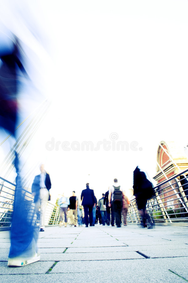 Modern Life Stress. Blur effect showing the stress of modern life (intentional blur and overexposure stock photos