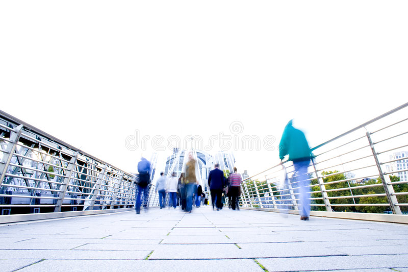Modern Life Stress. Blur effect showing the stress of modern life royalty free stock image
