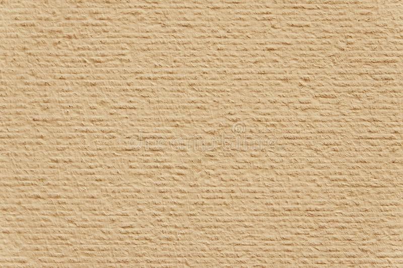 Modern Light Brown Painted Wall Background Texture Stock Photo