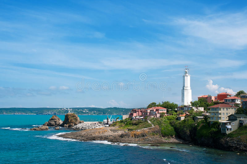 Modern Lighthouse royalty free stock photos