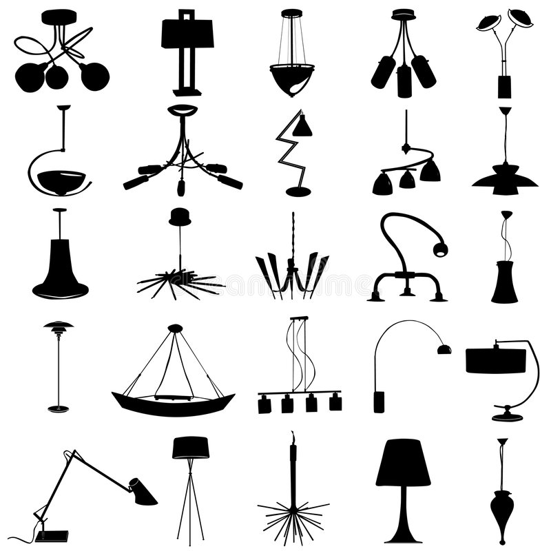 Download Modern lighting vector stock vector. Image of decoration - 6919565