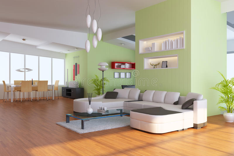 Download Modern Living Room Stock Photos - Image: 16291033