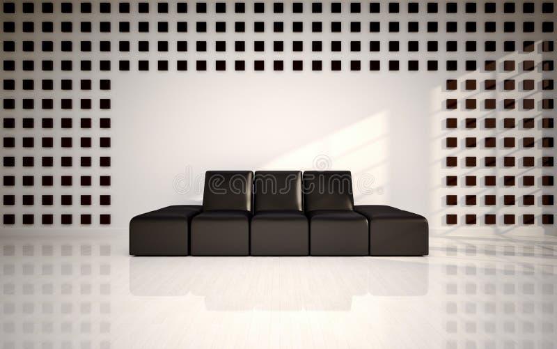 Download Modern living room stock illustration. Illustration of bedroom - 26271767
