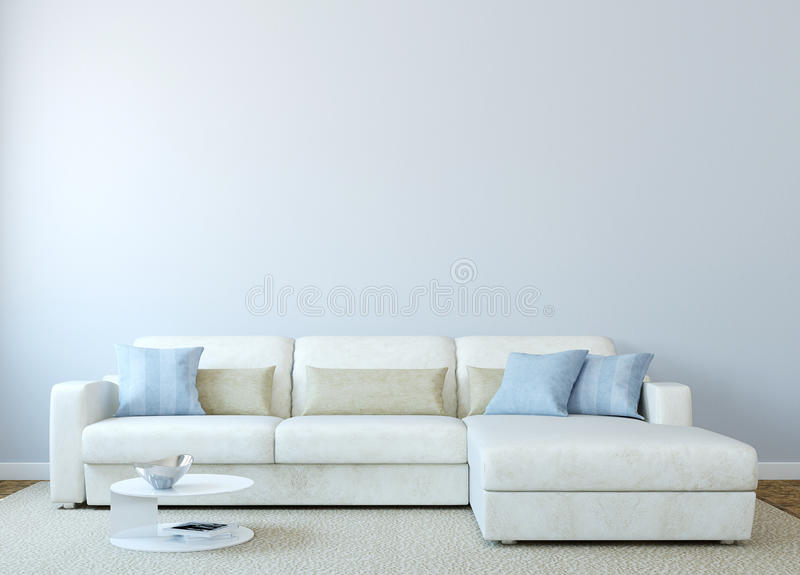 Modern living-room stock illustration