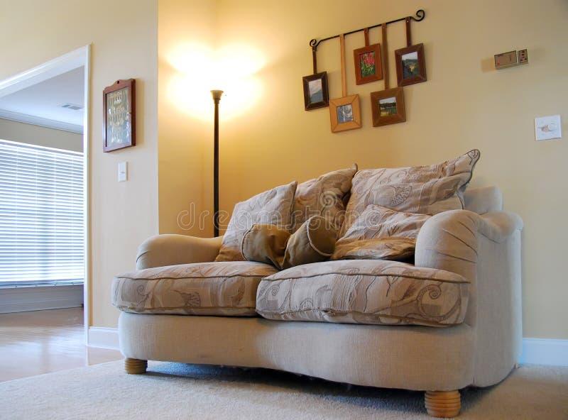 Download Modern Living room stock image. Image of lamp, flooring - 3617305