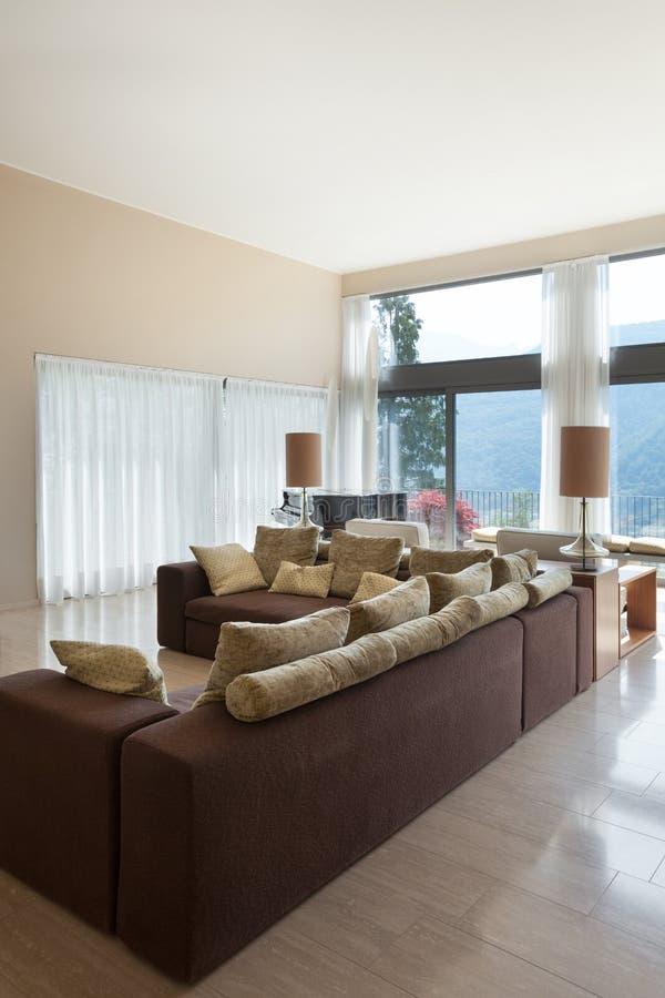 Download Modern Living Room, Divan Stock Photo. Image Of Design   56603518
