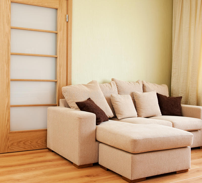 Modern living room interior royalty free stock photography