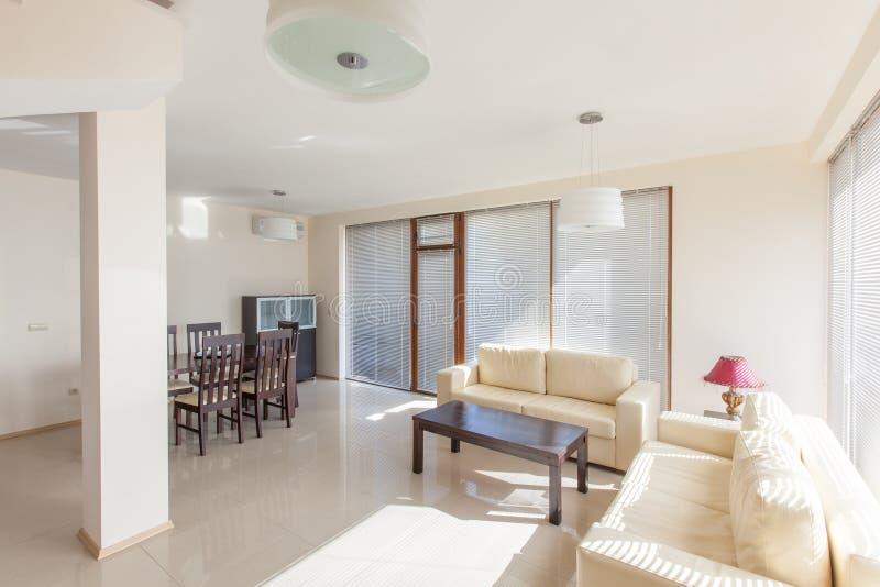 Modern living room. interior stock photography