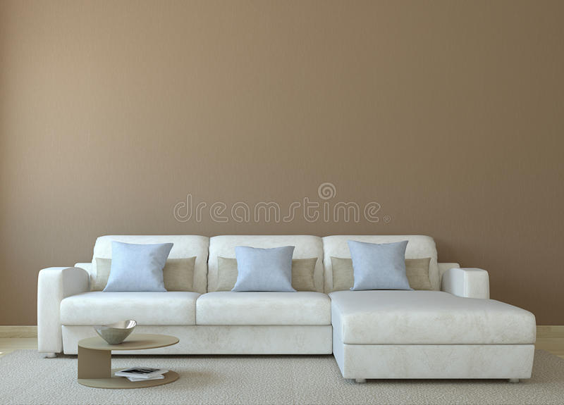 Book Cover Photography Near Me : Modern living room royalty free stock image
