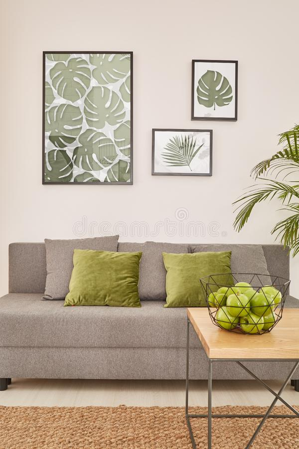 Free Modern Living Room With Sofa Royalty Free Stock Images - 92475799