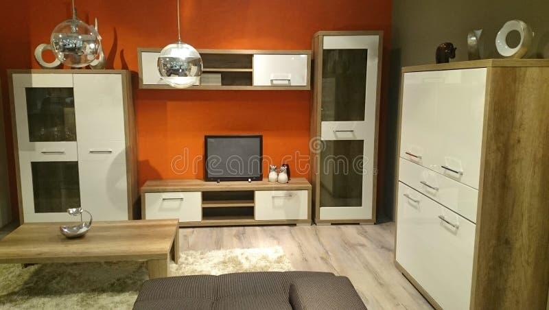 Modern livingroom stock photo