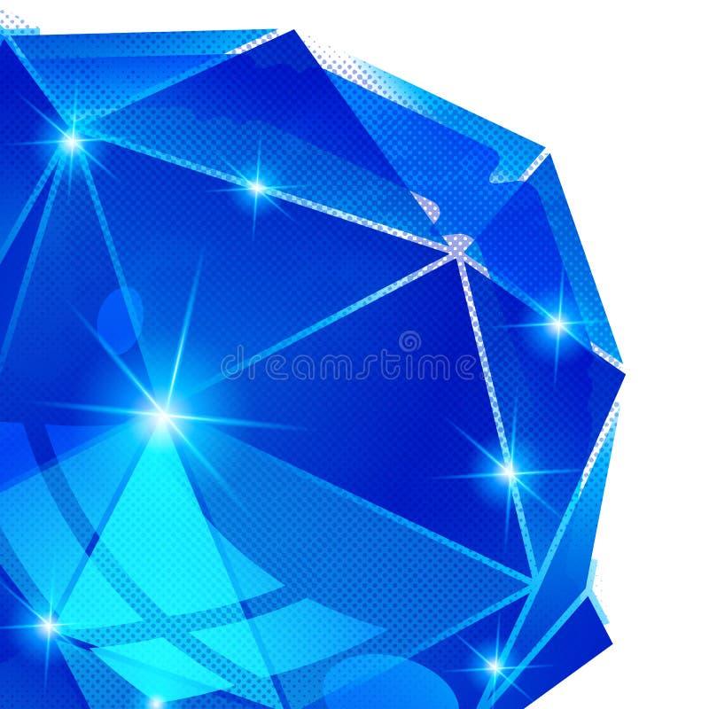 Modern ljus bakgrund med prick texturerat objekt 3d royaltyfri illustrationer