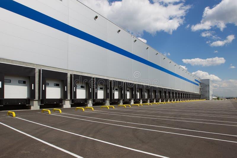 Modern logistics center royalty free stock images