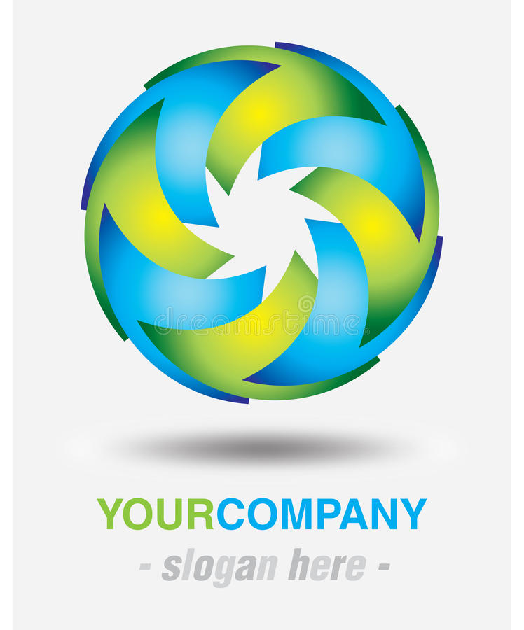 Download Modern logo design stock illustration. Image of vector - 27066205