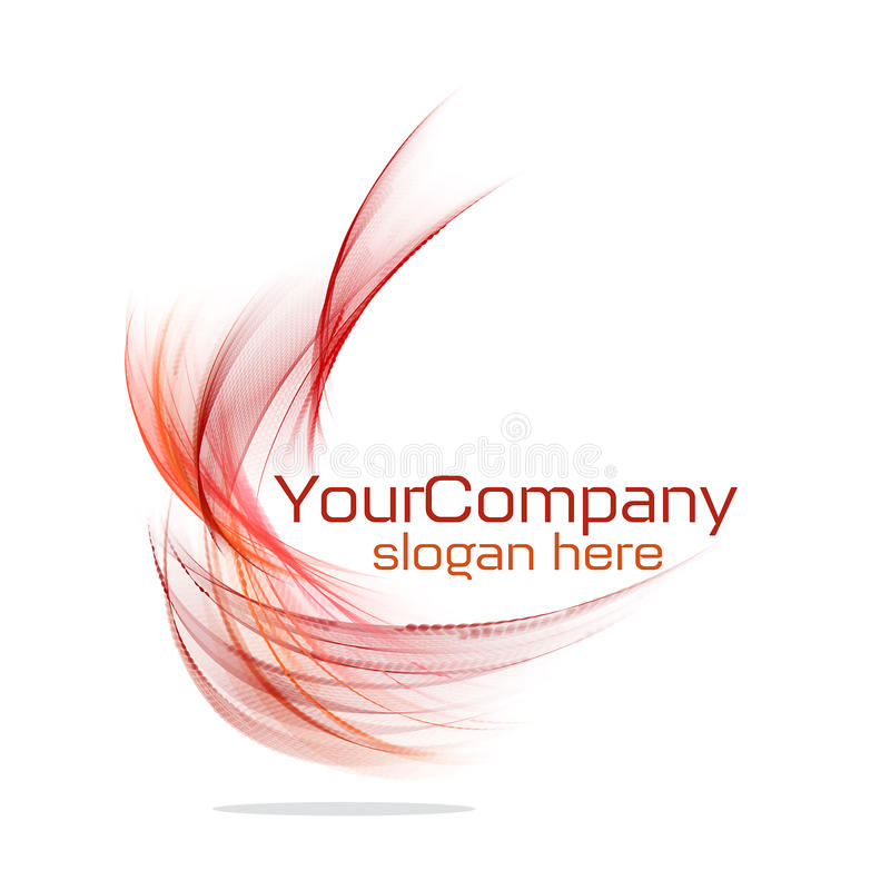 Modern logo design stock illustration
